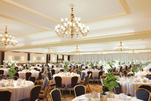 Thistle Glasgow: refurbished ballroom