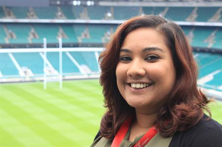 Shirene Lalmahomed joins Twickenham Experience