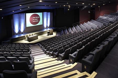 Warwick University lecture theatre