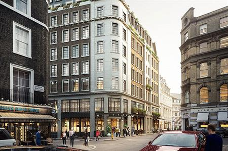 The Wellington Hotel will be located in Covent Garden