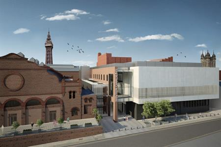 A CGI of the new conference centre