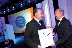 Deloitte picks Dublin for awards programme
