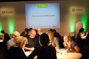 Oxfam appoints DRP Group for team engagement event