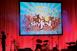 Sky increases budget for Skyfest event
