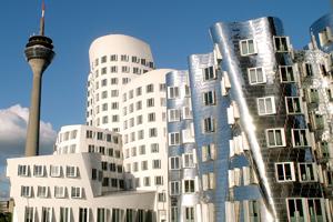 Gehry architecture, Dusseldorf