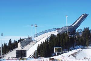 Holmenkollen ski jump, Oslo, Norway
