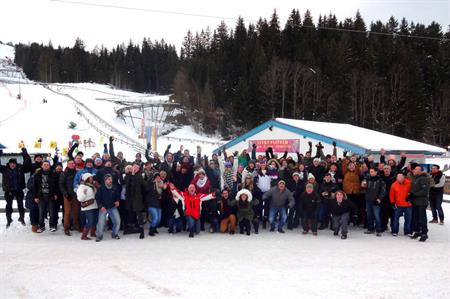 Agency DRP Group took staff to Austria for Christmas 2013