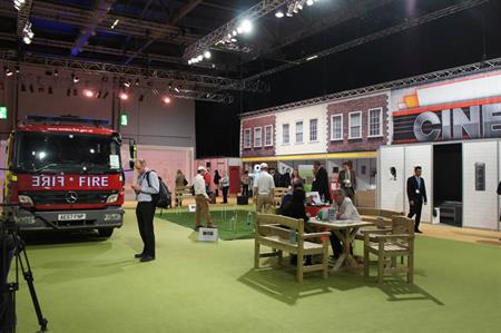 Dementia Village at Healthcare & Innovation Expo 2013, Excel London
