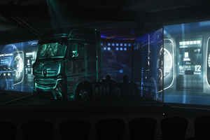Case study: Mercedes-Benz's UK Actros launch