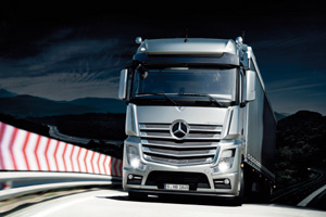 Mercedes-Benz appoints DBMT for Actros launch
