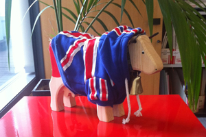 Name Team GB's Swiss Trophy mascot
