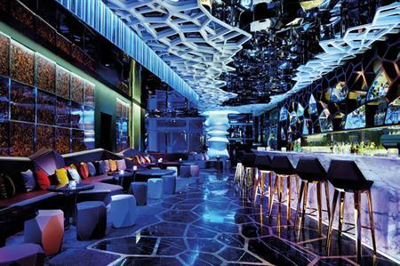 Ozone bar, Ritz Carlton, Hong Kong