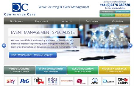 Conference Care ranked 47th in C&IT's Top 50 UK agencies table
