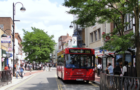 The website aims to support high streets