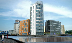 Casino resort: A CGI of the view from the west bank of the River Hull