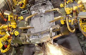 Manufacturing: dependent areas have suffered more during recession