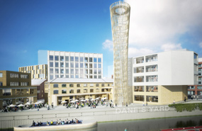 A visualisation of the Strand East development