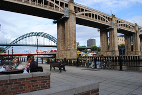 Newcastle: according to the report the North East saw the highest levels of inward investment