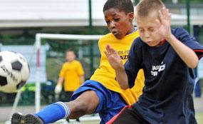 Success: A football tournament run by the trust