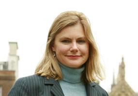 Transport secretary Justine Greening
