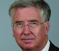 Business minister Michael Fallon MP