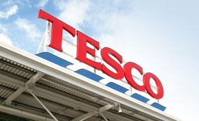 Tesco: 100 sites will not be developed