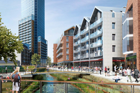 Proposals for London brewery site include 669 new homes