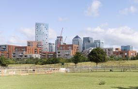 Crossharbour District Centre: plans include 850 homes