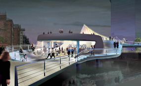 Hull Forward has said it hopes the River Hull footbridge project will continue by other means.