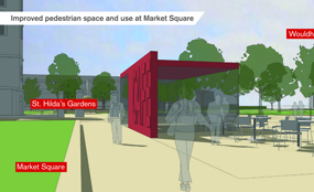 South Shields Masterplan - proposals to improve the town's Market Square