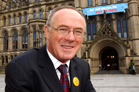 Sir Richard Leese, leader of Manchester City Council