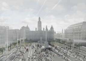 George Square: one the proposed designs for the redevelopment