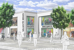 King's Quarter: a planning application could be submitted next year
