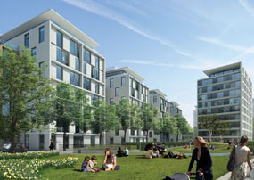 Earls Court: masterplan includes proposals for 7,500 homes