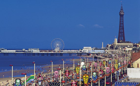 Blackpool's new leader has said bidding for city status would be 'a distraction'.
