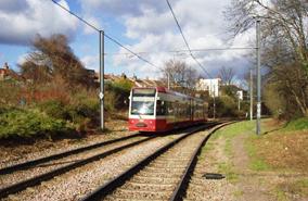 Going places: Croydon tramlink