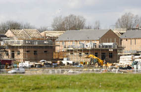 Housebuilding: targets 'slashed by 20% in South West'