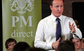 Prime Minister David Cameron answers questions from Birmingham residents in his latest PM Direct.