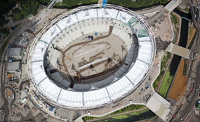 The Olympic Park Legacy Company remains committed to an athletics end-use for the stadium for the Games.