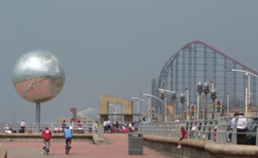 Blackpool has experienced a high rate of business failures