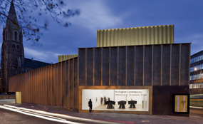 Nottingham Contemporary is a new 3,400sq metre arts space
