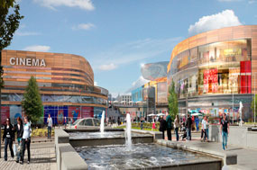 Newport: 32,000 square metres of retail space is planned