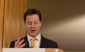 Deputy prime minister Nick Clegg. Picture: PA