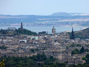 Edinburgh: The report found that two thirds of town centre retail projects are stalled