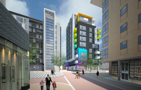 A visualisation of how the scheme could look