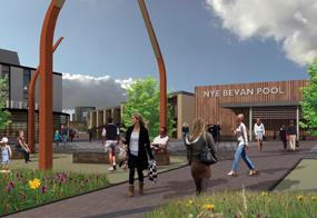 Skelmersdale: artists impression of redevelopment plans