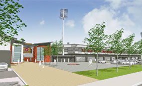 FC United of Manchester's planned new stadium aims to be a community hub offering a range of physical activities to local people.