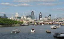 London's River Thames: Permission has been granted for a 700-home scheme on its banks
