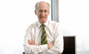 David Higgins will leave the Olympic Delivery Authority in February 2011.
