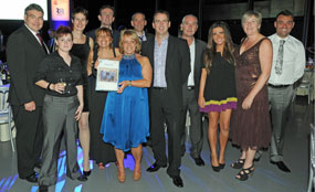 Some of the winners at the Homes & Communities Awards 2010